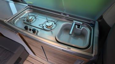 Volkswagen California T6.1 - cooking area