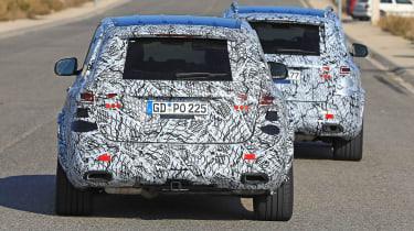 Mercedes GLE spy rear