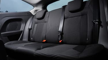 Ford Fiesta rear seats