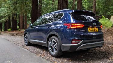 Hyundai Santa Fe - fourth report rear