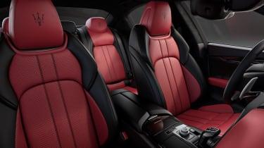 Maserati Ghibli Ribelle interior