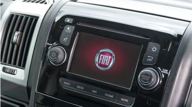 Fiat Ducato 2014 interior detail