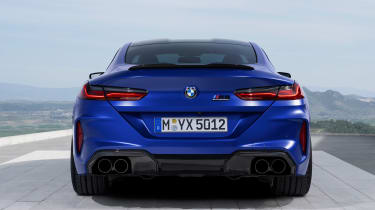 BMW M8 Competition - full rear static