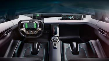 NextEV NIO EP9 electric hypercar - dash