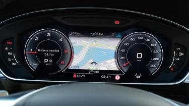 New Audi A8 2017 - dash