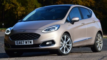 Ford Fiesta Vignale front quarter