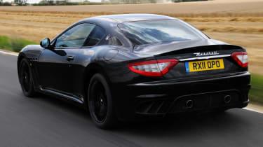 Maserati GranTurismo MC Stradale rear tracking