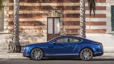 Bentley Continental GT Speed profile