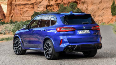 BMW X5 Competition - rear static