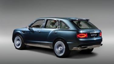 Bentley EXP 9 F rear studio