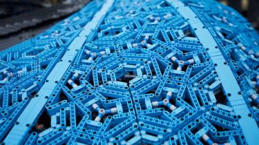 Lego Bugatti Chiron - bodywork
