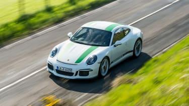 Porsche 911 R - above