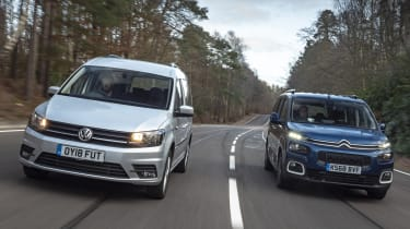 Caddy vs Berlingo