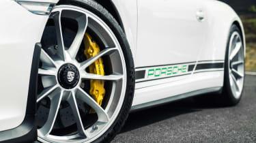 Porsche 911 R - side detail