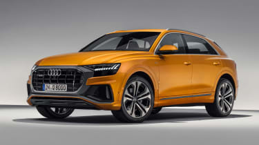 New Audi Q8 - front