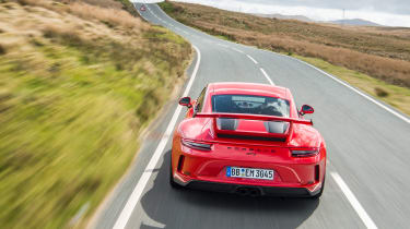 Porsche 911 GT3 - full rear action