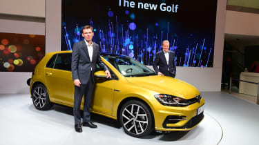 New 2017 Volkswagen Golf reveal - presentation static