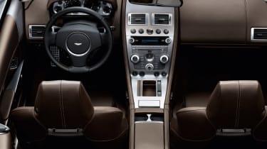 Aston Martin DB9 Volante convertible dash