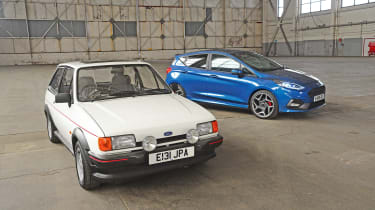 Ford Fiesta XR2 vs Ford Fiesta ST - head-to-head