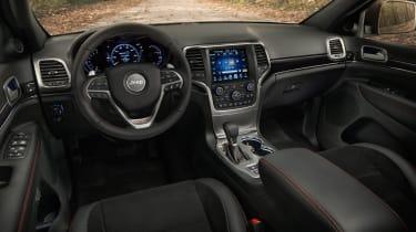 Jeep Grand Cherokee Trailhawk - interior