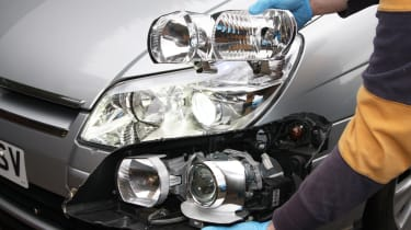 HID conversion kits - light types