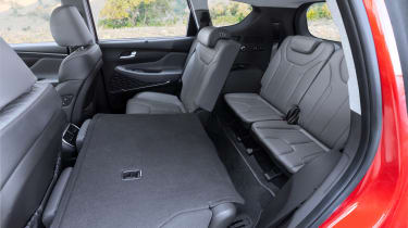 Hyundai Santa Fe - rear seats