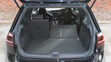 Volkswagen Golf GTI Clubsport UK 2016 - boot space