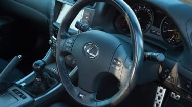Used Lexus IS - interior