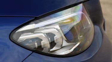 Mercedes C-Class - front light