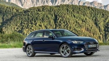 Audi A4 Avant 2019 front static
