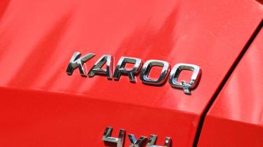 Skoda Karoq - Karoq badge