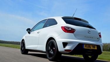 SEAT Ibiza Cupra 2016 - rear tracking