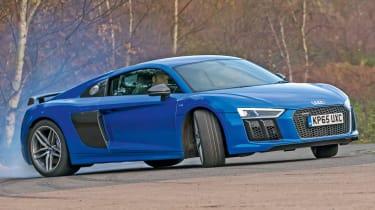 Audi R8 - sideways