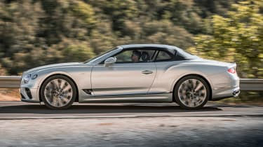 Bentley Continental GT Speed Convertible - side action