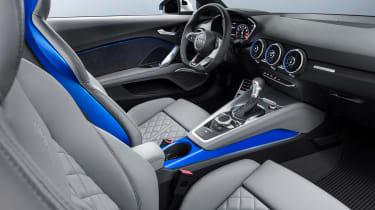 Audi TT S - studio dash