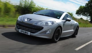 Peugeot RCZ Asphalt front tracking