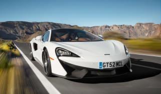 McLaren 570GT - front action