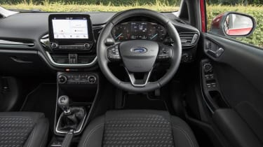 Ford Fiesta diesel review - interior