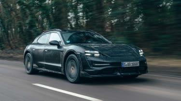 Porsche Taycan Cross Turismo prototype - front tracking