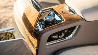 Rolls-Royce Cullinan - rear centre console