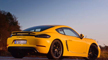 New Porsche Cayman GTS review - rear static