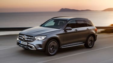 Mercedes GLC - front tracking
