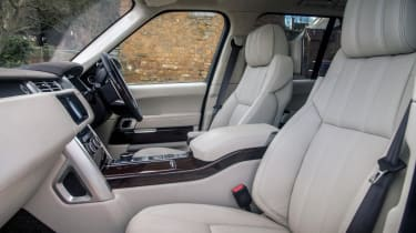 Used Range Rover - front seats