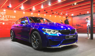 New BMW M4 CS front
