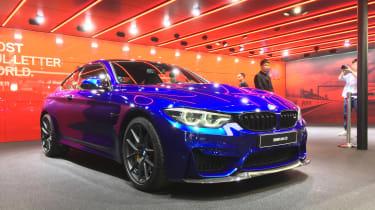 New BMW M4 CS front