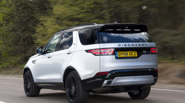 Discovery rear tracking