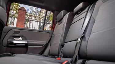Mercedes GLB - rear seats