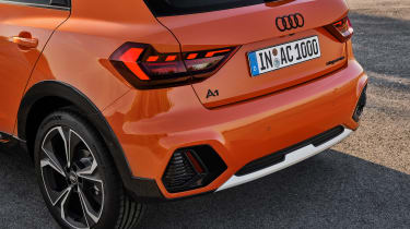 Audi A1 Citycarver - rear detail