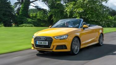 Audi A3 Cabriolet - front action