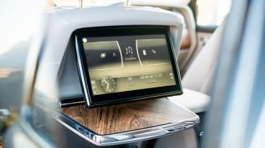 Rolls-Royce Cullinan - rear infotainment